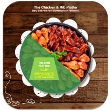 Mini Chicken And Rib Platter