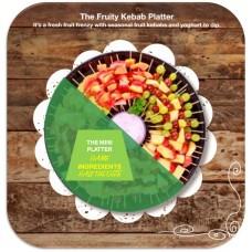 Mini Fruity Kebab Platter