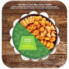 Mini Meat Free Munchies Platter