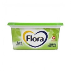 FLORA LIGHT 40% FAT SPREAD TUB 500GR