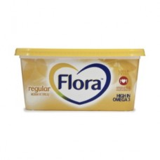 FLORA MARGARINE MEDIUM FAT SPREAD REGULAR 500GR