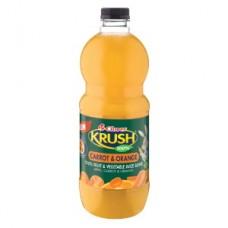 CLOVER KRUSH FRUIT JUICE 100% CARROT & ORANGE 1.5LT