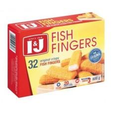 I&J TASTY FISH FINGERS 800G