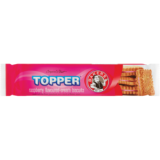 BAKERS TOPPER RASPBERRY 125G