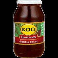 KOO BEETROOT GRATED (JAR) 780GR