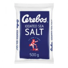 CEREBOS  IODISED SEA SALT 500G