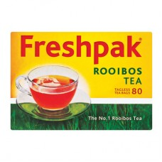 FRESHPAK ROOIBOS TAGLESS TEA BAGS 80S