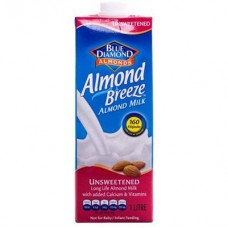 BLUE DIAMANTE ALMOND BREEZE UNSWEETENED 1LT