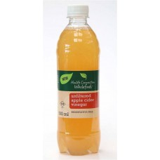 HEALTH CONNECTION APPLE CIDER UNFILTERED 500ML