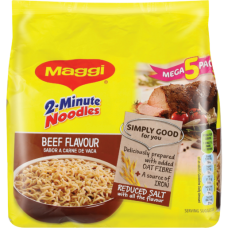 MAGGI 2 MIN NOODLES BEEF 5'S