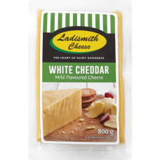 LADISMITH CHEDDAR WHITE 8OOG