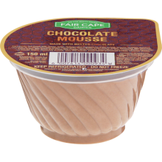 FAIR CAPE CHOCOLATE MOUSSE 150GR