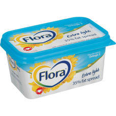 FLORA MARGARINE TUB EXTRA LIGHT 500GR