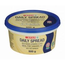 SPAR DAILY SPREAD TUB 40% 1KG