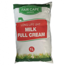 FAIR CAPE UHT FULL CREAM MILK SACHET 1LT